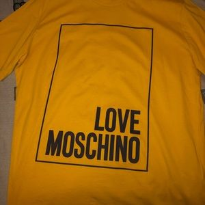 Brand new Men's Moschino Shirt size Medium